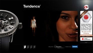 On Line il Temporary Website Tendence Watches